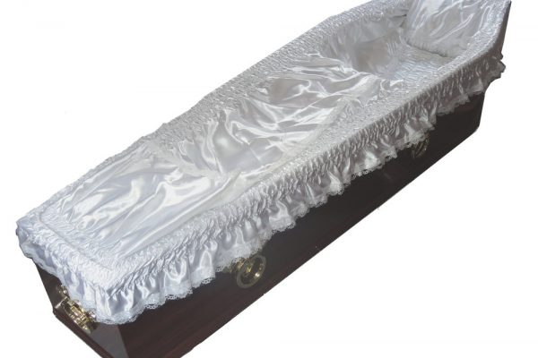 Superior Lining comes as standard with all coffins.